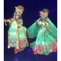 "6"" Radha Krishna (Complete Set With Ornaments)"